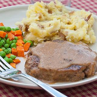 Salisbury Steak with Gravy.