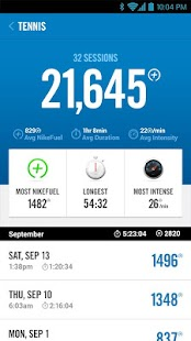 Nike+ FuelBand Screenshot 4