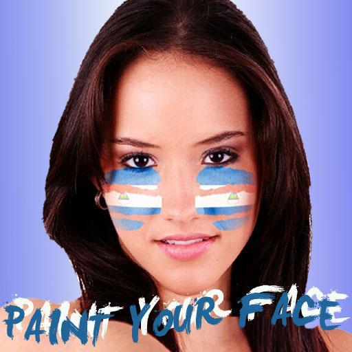 Paint your face Nicaragua 運動 App LOGO-APP試玩