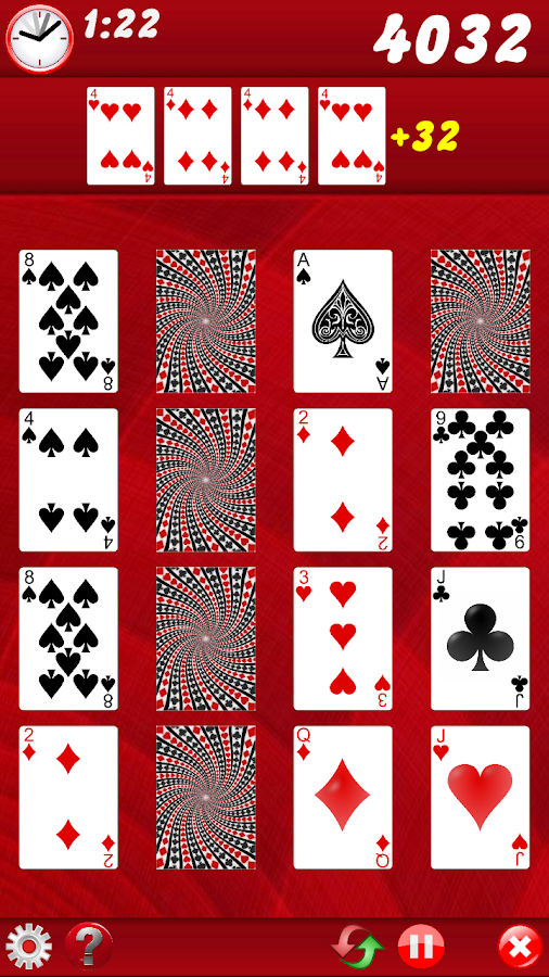 Game of 4 - screenshot