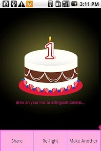 Happy Birthday Cake (free) - screenshot thumbnail
