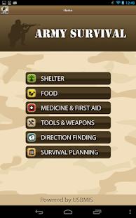 玩免費生活APP|下載Army Survival app不用錢|硬是要APP