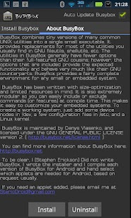 BusyBox Screenshot