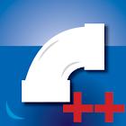 Pipe Headloss Calculator Plus icon