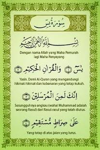 Surah Yasin Dan Terjemahan- screenshot thumbnail