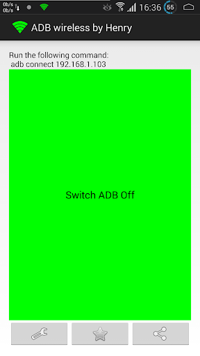 ADB Wireless (root) 1.2 screenshots 1
