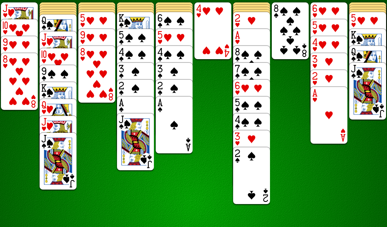 spider solitaire play now