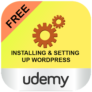 Learn WordPress: Udemy Course Icon