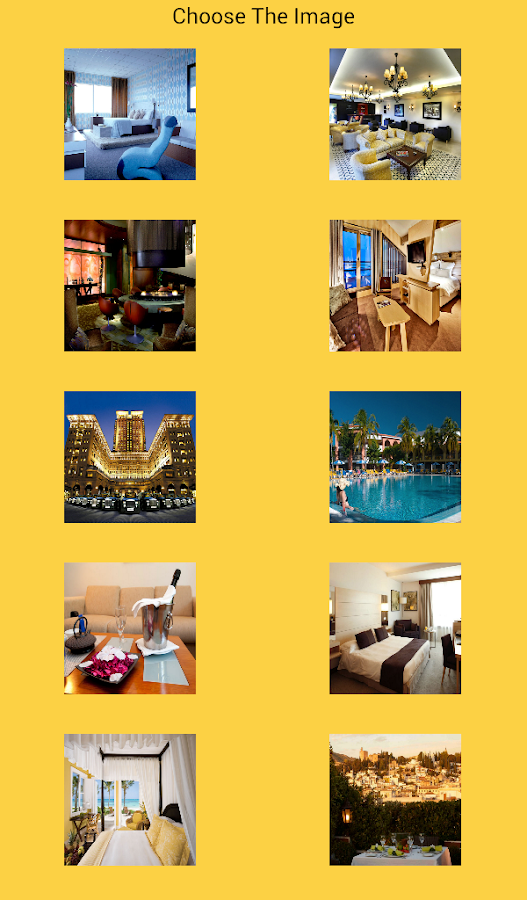 Games Hotels - screenshot