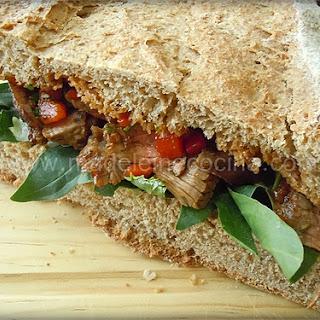 Top Sirloin Steak Sandwich.