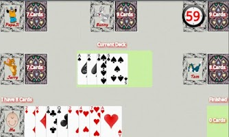 Screenshot of Bhabhi - The Card Game