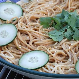 Cold Sesame Noodles.