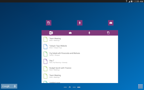 OneNote - screenshot thumbnail
