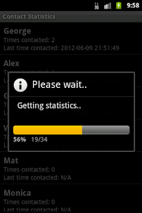 Contact Statistics Full - screenshot thumbnail