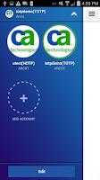 Screenshot of CA Mobile OTP