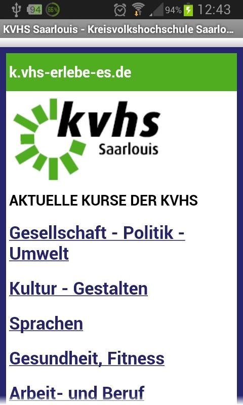 KVHSsaarlouis- screenshot