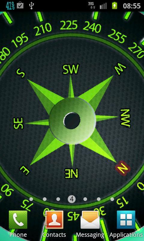 Easy Compass Live Wallpaper - screenshot