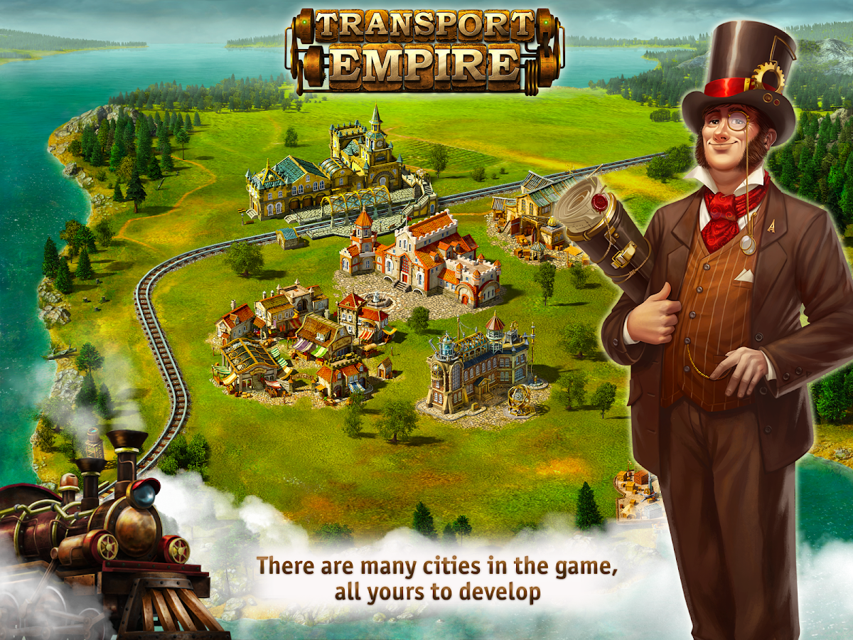 Transport Empire: Steam Tycoon- screenshot