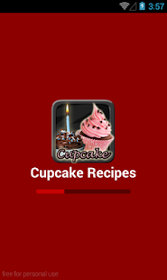 Cupcake Recipes for Android screenshot 1