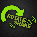 Rotate on Shake icon