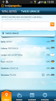 Screenshot of Pogoda TwojaPogoda.pl