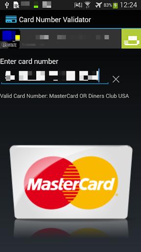Card Number Validator