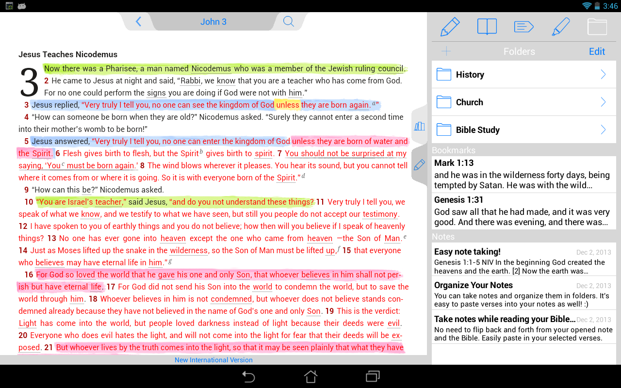ESV Bible - screenshot