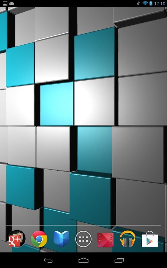 Cubescape 3D Live Wallpaper - screenshot