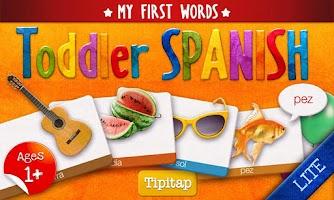 Screenshot of Toddler Spanish Lite