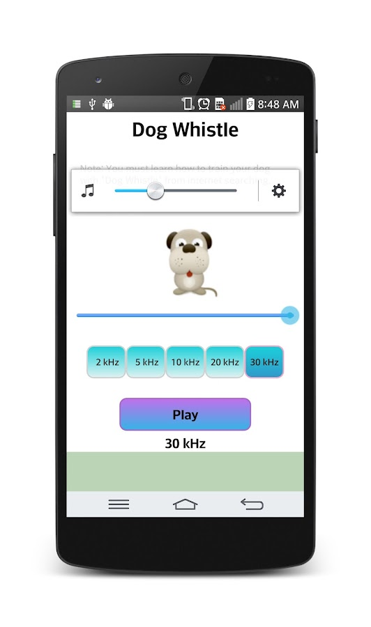 Dog whistle : Free- screenshot