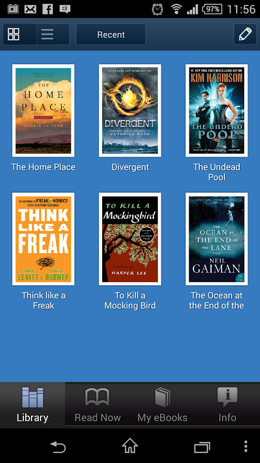 HarperCollins Reader- screenshot