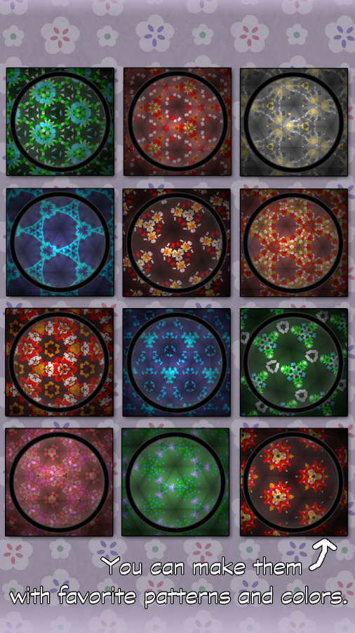 Kaleidoscope LiveWallpaper- screenshot