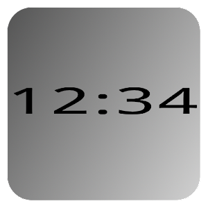 Mono Clock Widget Lite 工具 App LOGO-硬是要APP