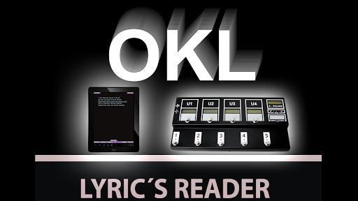 OKL Lyrics Reader