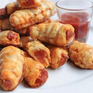 Chorizo Puff Pastry Bites.