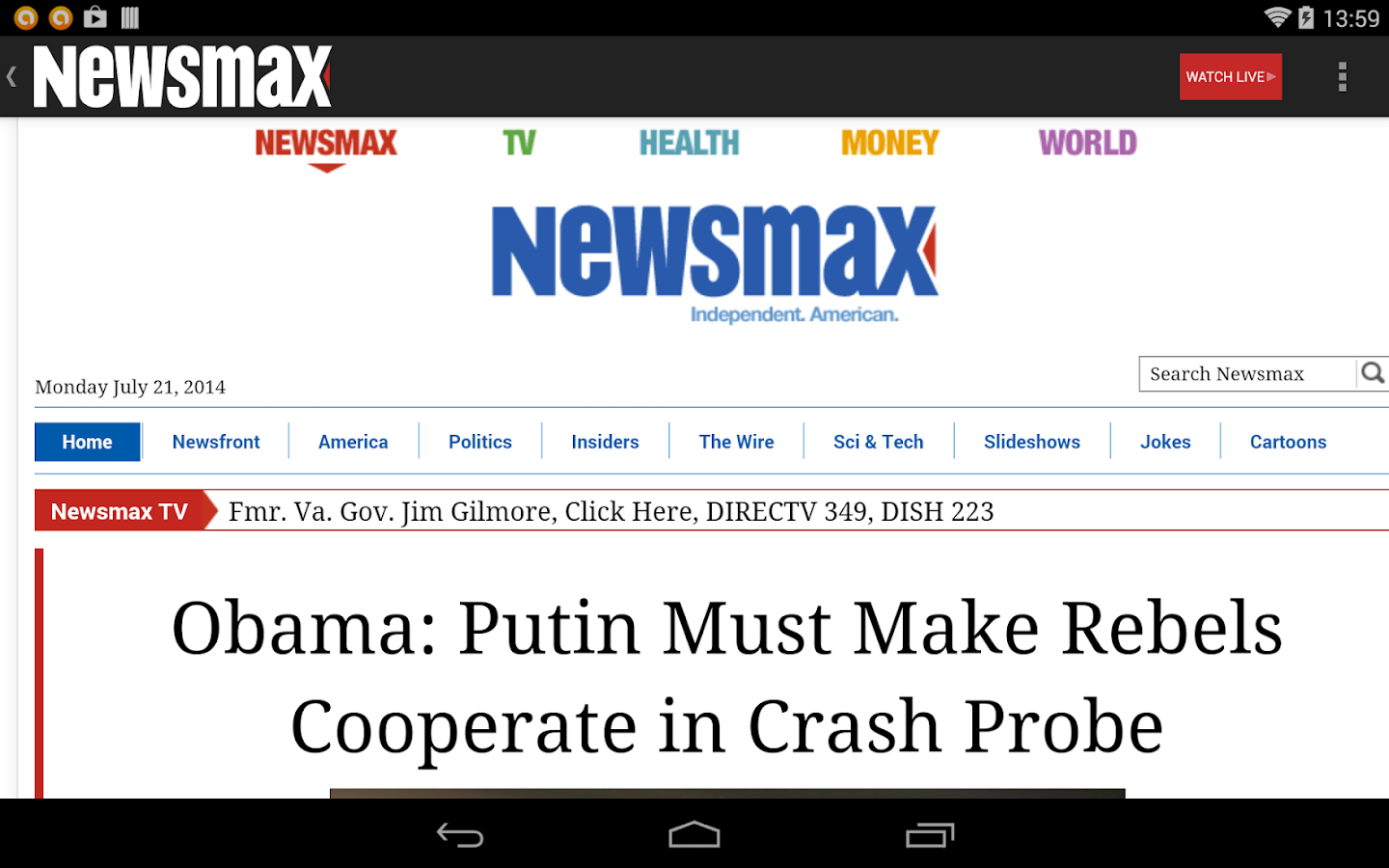 Newsmax TV & Web - screenshot