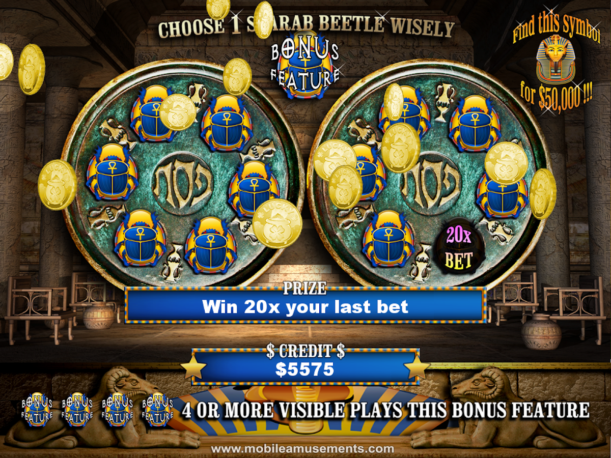Egypt Reels of Luxor Slots Pyramid Of Jewels FREE- screenshot