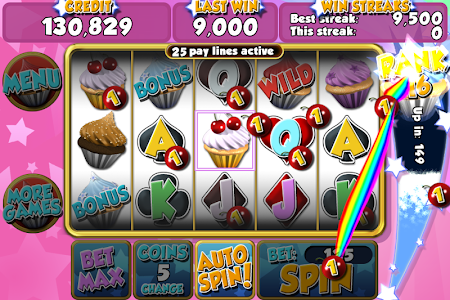 Cupcake Frenzy Slots 1.0.6 screenshot 89671