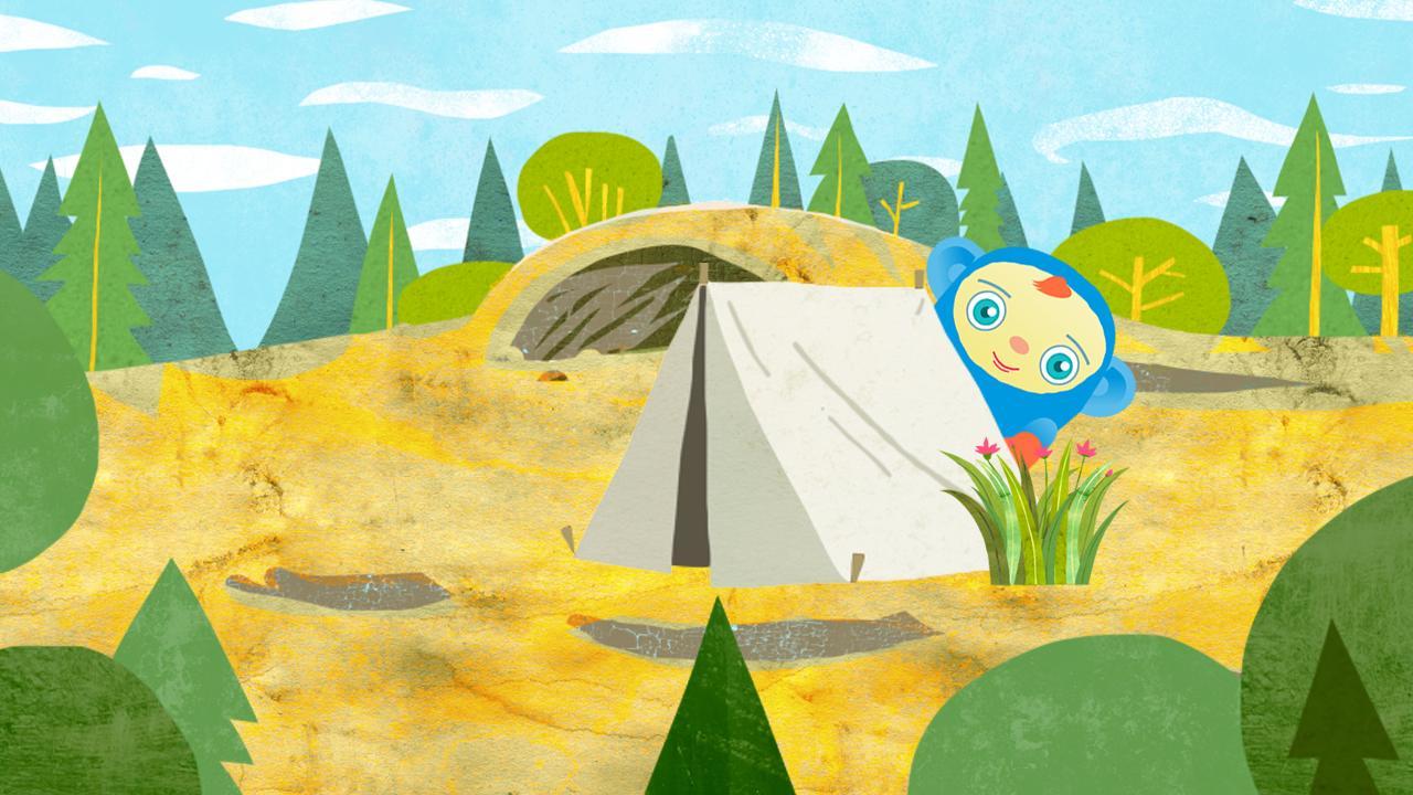 Peekaboo Goes Camping Game- screenshot