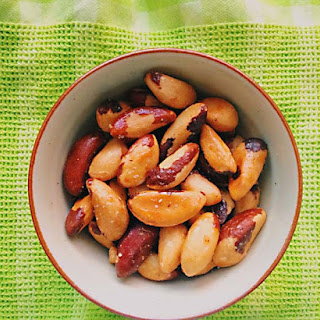 Slightly Sweet and Salty Brazil Nuts