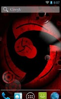 Screenshot of Sharingan Wallpaper