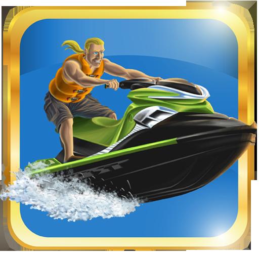 Fast jet ski racing 賽車遊戲 App LOGO-APP開箱王