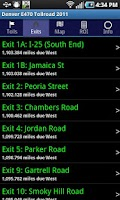 Screenshot of Denver E-470 Toll Road 2014