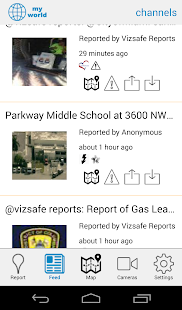 Vizsafe- screenshot thumbnail