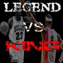 MJ vs. LBJ Live Wallpaper logo