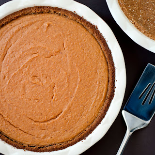 Coconut-Sweet Potato Pie With Spiced Crust