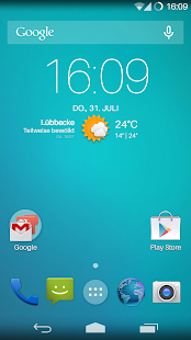Flat Transparency Theme- screenshot thumbnail
