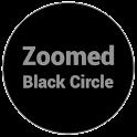Zoomed Black Circle