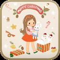 Christmas present go launcher icon