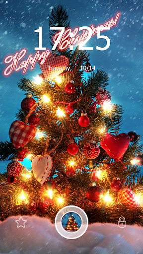 Merry Christmas Lockscreen